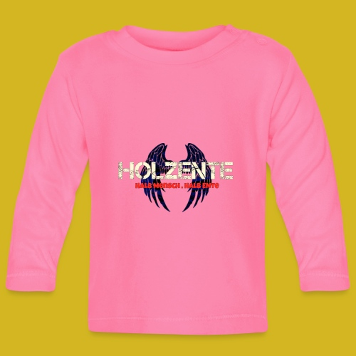 HolzEnte - Baby Langarmshirt