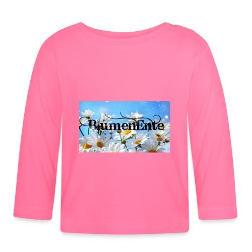 BlumenEnte - Baby Langarmshirt