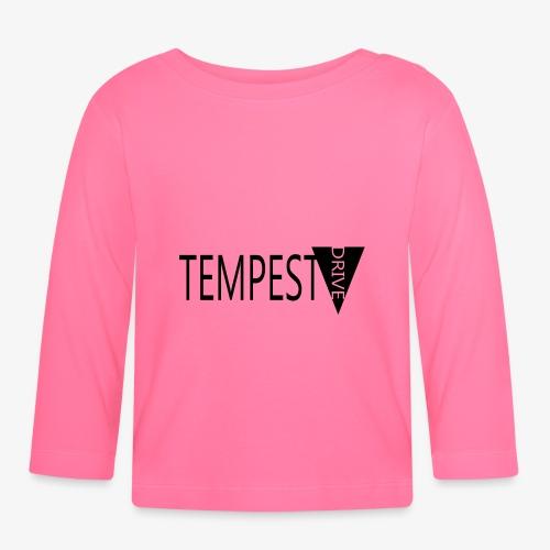 Tempest Drive: Full Logo - Langærmet babyshirt