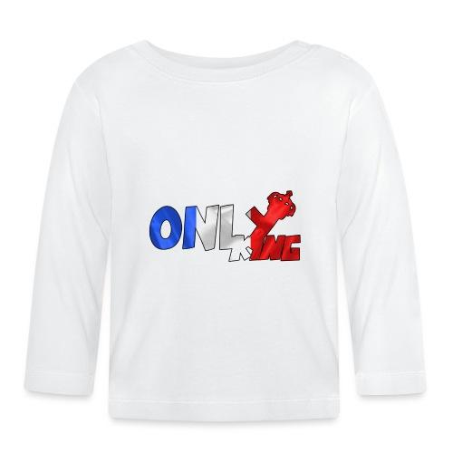 Logo ONLY KING edition francaise - T-shirt manches longues Bébé