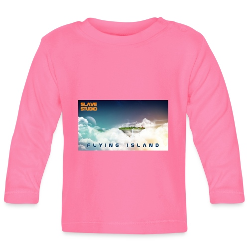 flying island - Maglietta a manica lunga per bambini