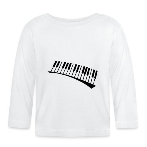 Piano - Camiseta manga larga bebé