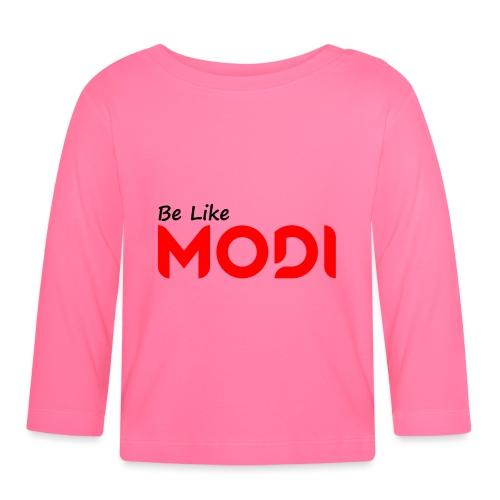 Be Like MoDi - Koszulka niemowlęca z długim rękawem
