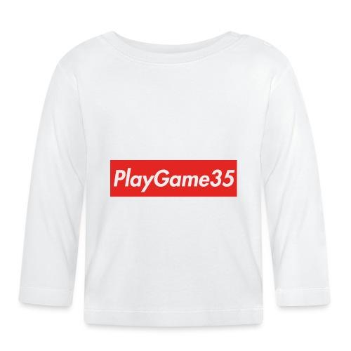 PlayGame35 - Maglietta a manica lunga per bambini