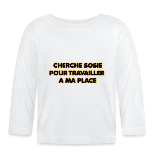cherche_sosie2 - T-shirt manches longues Bébé