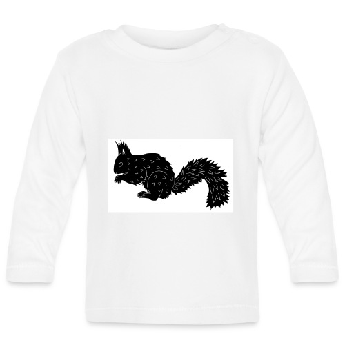 Squirrel - Baby Long Sleeve T-Shirt