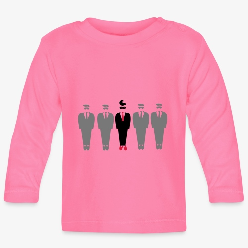 Dare to be different design by Patjila - Baby Long Sleeve T-Shirt