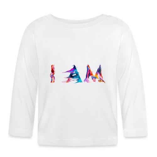I AM - T-shirt manches longues Bébé