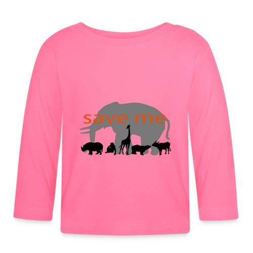 Animaux - T-shirt manches longues Bébé