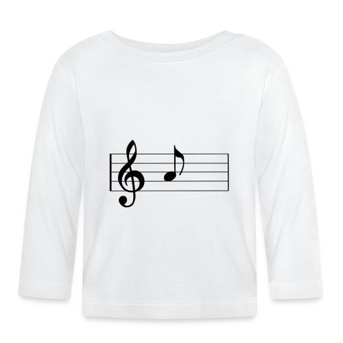 music sheet 1275643 - Maglietta a manica lunga per bambini