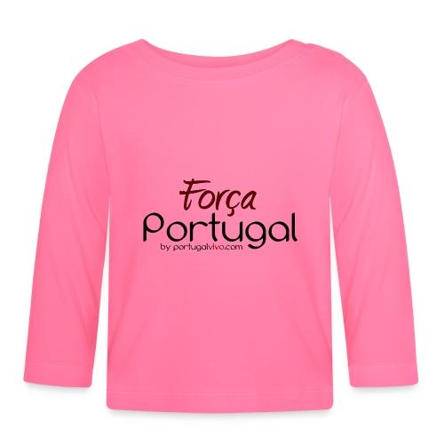 Força Portugal - T-shirt manches longues Bébé