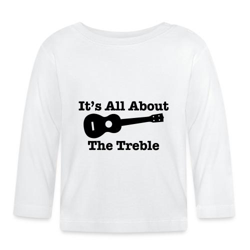 Ukulele Treble 2 - Baby Long Sleeve T-Shirt