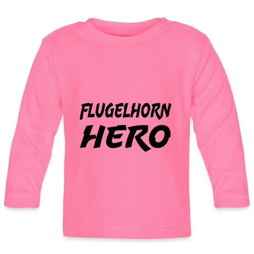 Flugelhorn Hero - Langarmet baby-T-skjorte