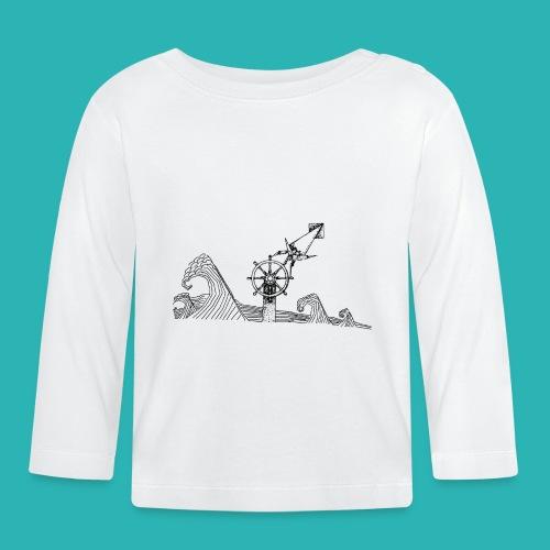 Carta_timone-png - Maglietta a manica lunga per bambini