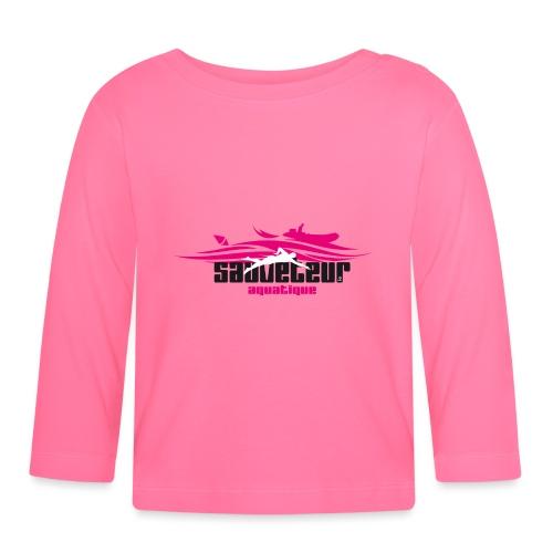 sauveteur aquatique - T-shirt manches longues Bébé