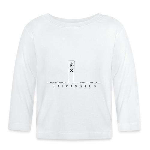 Taivassalo -printti - Vauvan pitkähihainen paita