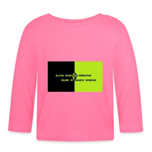 Channel_Art_Template_ufo_youtube_pt_4 - Maglietta a manica lunga per bambini