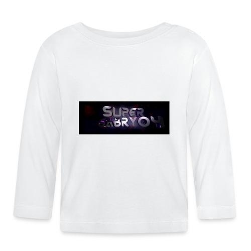 SUPERGABRY04 - Maglietta a manica lunga per bambini