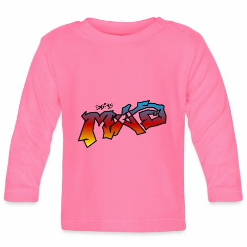 Life Is MAD CGI Makeover TM collaboration - Baby Long Sleeve T-Shirt