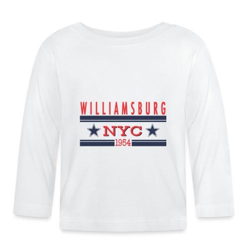 Williamsburg Hipster - Baby Langarmshirt
