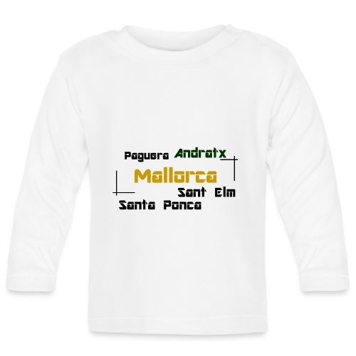 Mallorca Paguera Andratx Santa Ponca Sant Elm - Baby Langarmshirt