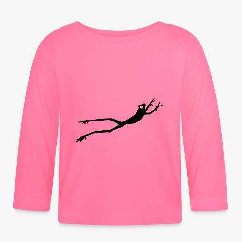 Frog - Langarmet baby-T-skjorte