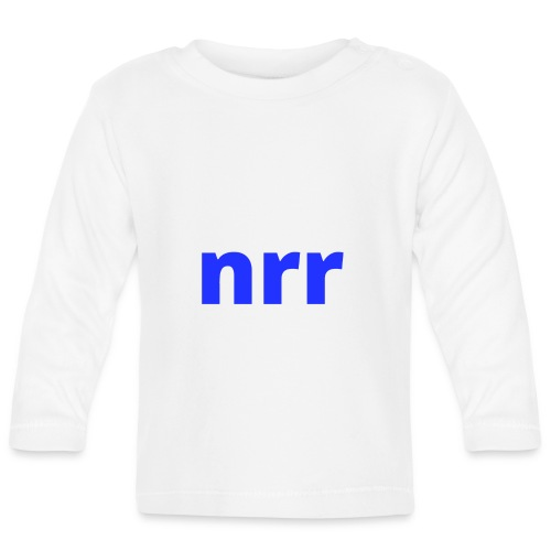 NEARER logo - Baby Long Sleeve T-Shirt