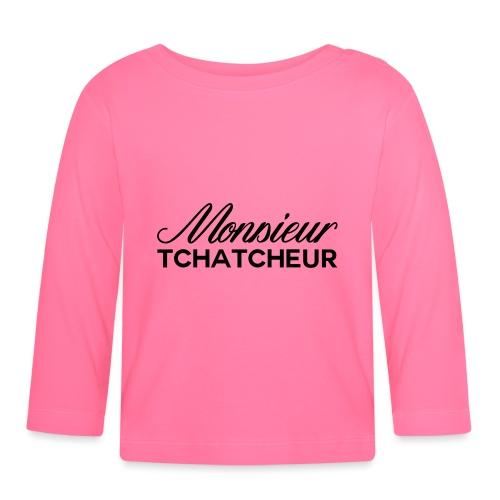 monsieur tchatcheur - T-shirt manches longues Bébé