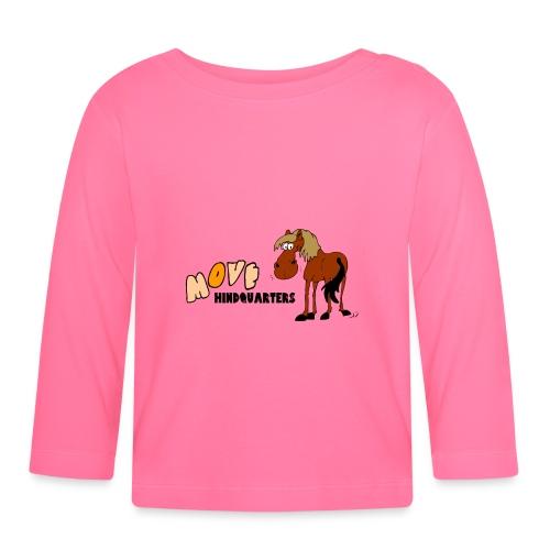 move hindquarters - Baby Langarmshirt