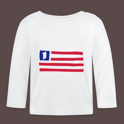 United States of Sardinia - orizzontale - Maglietta a manica lunga per bambini
