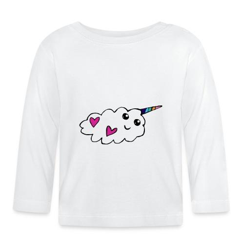 Nuage licorne Kawaii - T-shirt manches longues Bébé