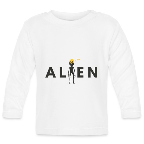 ALEN the Alien by Dougsteins - Baby Long Sleeve T-Shirt