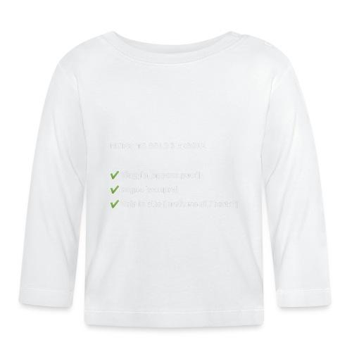 Stile di vita - Maglietta a manica lunga per bambini