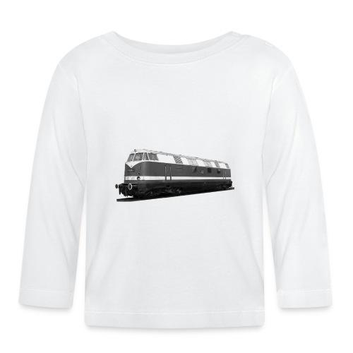 Lokomotive Diesel V 180 Deutsche Reichsbahn DDR - Baby Langarmshirt