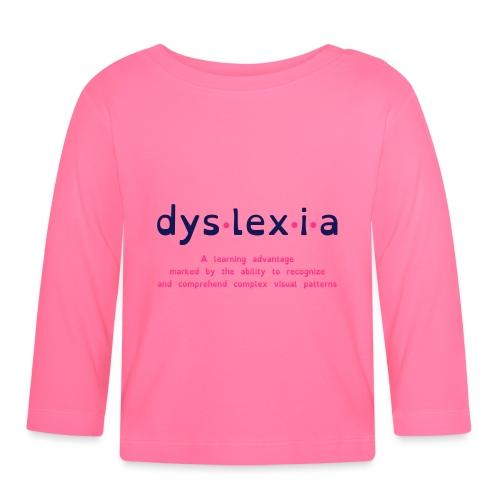 Dyslexia Advantage - Baby Long Sleeve T-Shirt