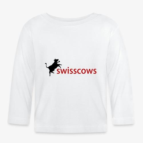 Swisscows Logo - Baby Langarmshirt