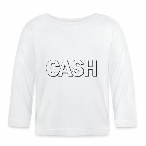 CASH png - Langærmet babyshirt