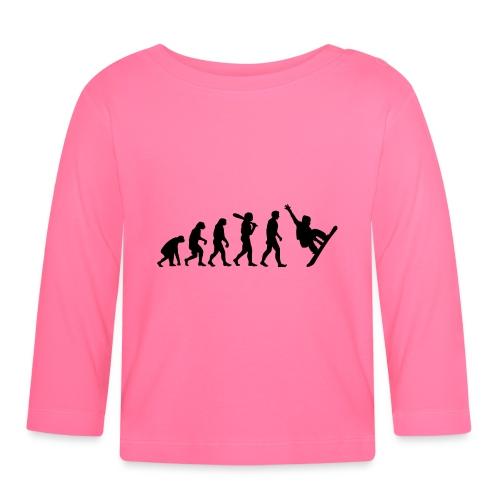 Evolution Snowboard - Baby Langarmshirt