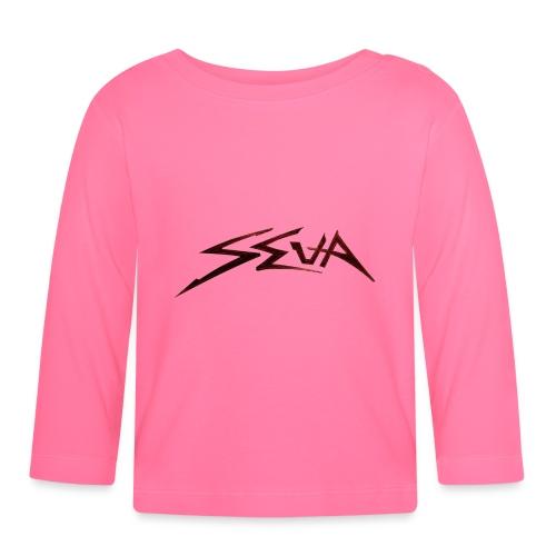 SEUA logo Speedy original design - Långärmad T-shirt baby