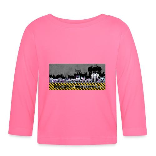#MarchOfRobots ! LineUp Nr 2 - Langærmet babyshirt