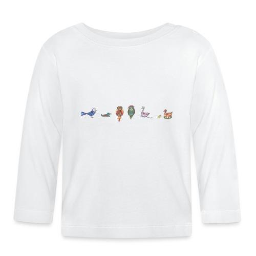 drôles d'oiseaux - T-shirt manches longues Bébé