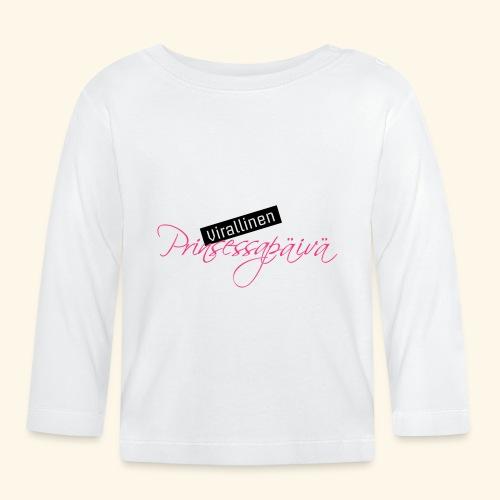 Prinsessapäivä - Vauvan pitkähihainen paita