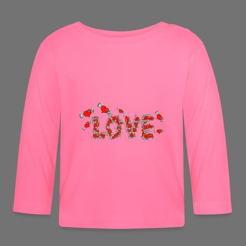 Flying Hearts LOVE - Vauvan pitkähihainen paita