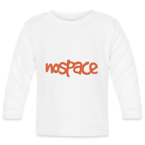 Nospace Orange By Dougsteins - Baby Long Sleeve T-Shirt