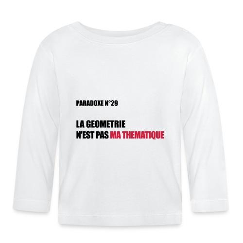 PARADOXE geometrie - T-shirt manches longues Bébé
