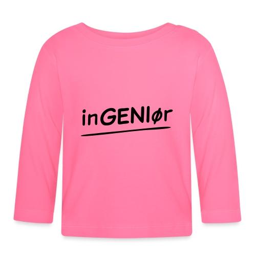 inGENIør - Langarmet baby-T-skjorte