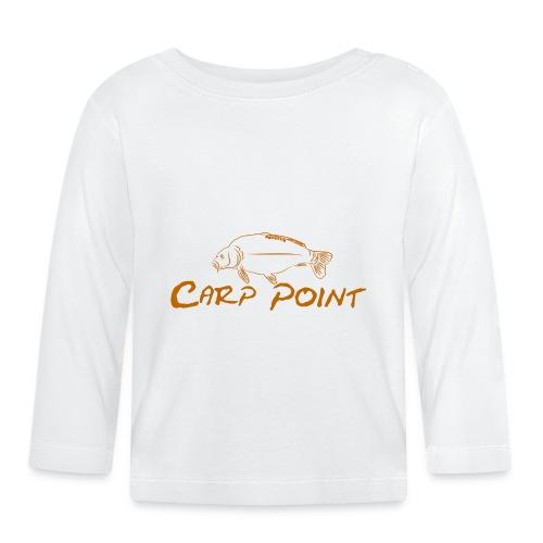 Carp Point orange mid - Baby Langarmshirt