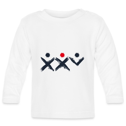 Logo Ich Troje 25 Czarne - Koszulka niemowlęca z długim rękawem