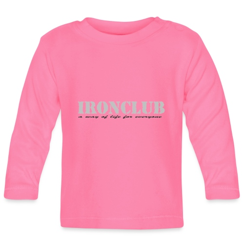 IRONCLUB - a way of life for everyone - Langarmet baby-T-skjorte