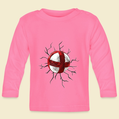 Radball | Cycle Ball Crash - Baby Langarmshirt